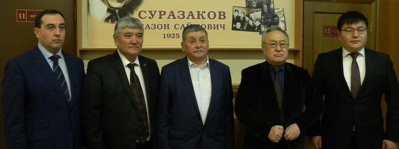 Состоялась встреча с Генеральным консулом Кыргызской Республики…